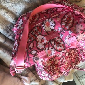 Two Vera Bradley travel bags